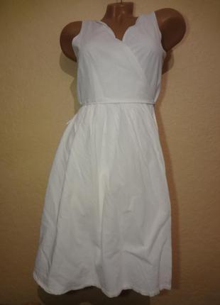 Красивое платье сарафан на запах mark o polo размер s