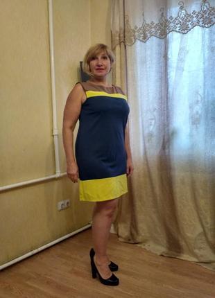 Платье + жакет в подарок размер 48-50 ( m-l)