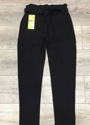 Женские брюки с поясом