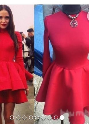 Супер модное платье к любому празднику!