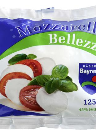 Сир Моцарелла 125гр 45% TM Belleza