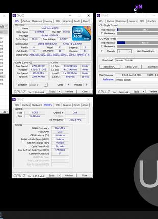 Процессор 1156: Intel Xeon X3450(8M Cache, 2.66 GHz) 4 ядра 8 пот