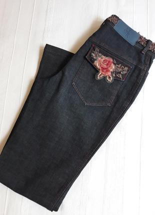 Mariella rosati италия брендовые#необычные джинсы с вышивкой д...