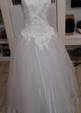 Свадебное платье р.38-50