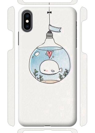 Чехол «Аквариум» для Iphone XS Max Силиконовый