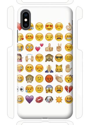 Чехол «Emoji» для Iphone XS Max Силиконовый