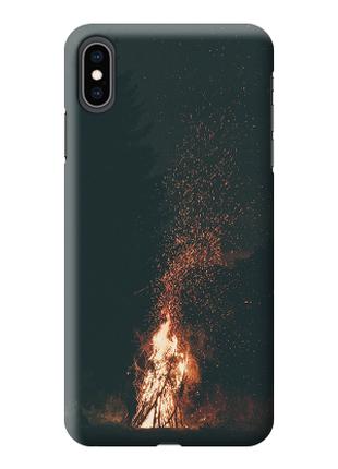 Чехол «костер» для Iphone XS Max Силиконовый