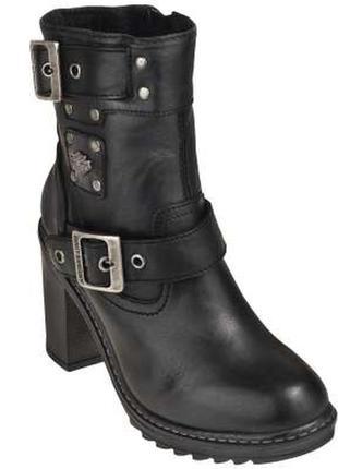Шикарные ботинки известной фирмы harley davidson women's ludwe...