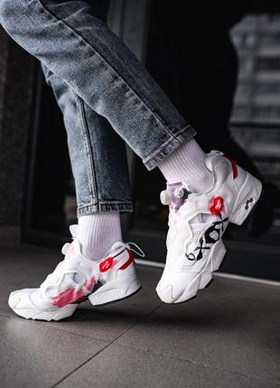 Reebok insta pump fury «xo xo» 🔺 женские кроссовки