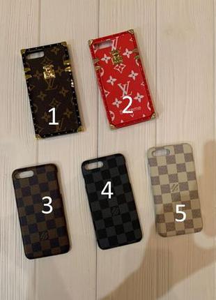 Чехол для айфона iphone louis vuitton lv 7/8 Plus X XS MAX guc...
