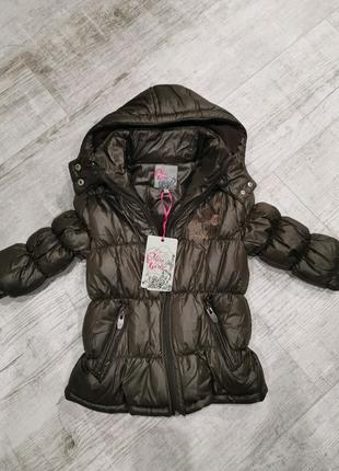 Новая демисезон куртка  Miss girly на весну для девочки внутри н