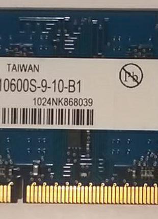 Оперативная память DDR3 SO-DIMM Elpida 1GB (EBJ10UE8BDS0-DJ-F)