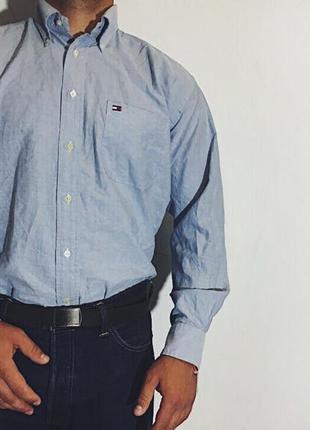 Мужская рубашка tommy hilfiger  ( томми хилфигер лрр)
