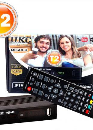 Приемник UKC DVB-T2-0967 с поддержкой Wi-Fi адаптера