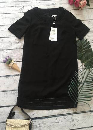 Чёрное платье vero moda вечернее коктейльное