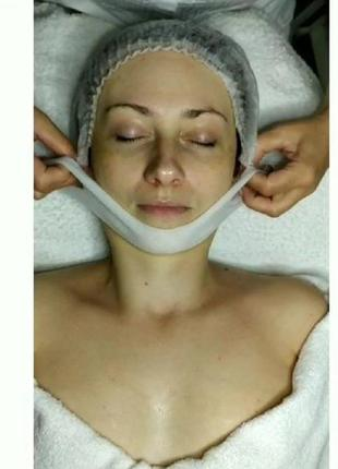 Лифтинг маска для подбородка