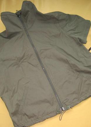 Стильная накидка,кофточка,ветровка,куртка с коротким рукавом,о...