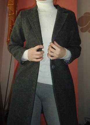 Теплое пальто осень/весна
