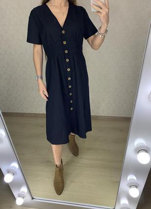 Платье на деревянных пуговицах cotton on