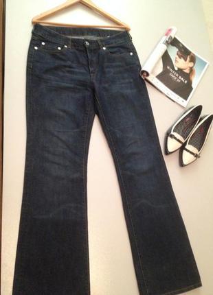 Плотные джинсы клеш.026