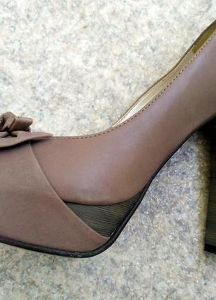 Туфли италия бренд levsky натуральная кожа