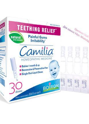 🇺🇸 Бойрон camilia при прорезывании зубов 30 жидких доз, камилиа
