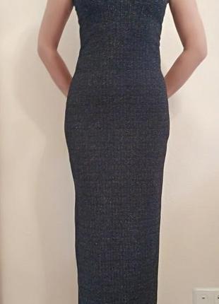 Элегантное вечернее платье черное s&d collection