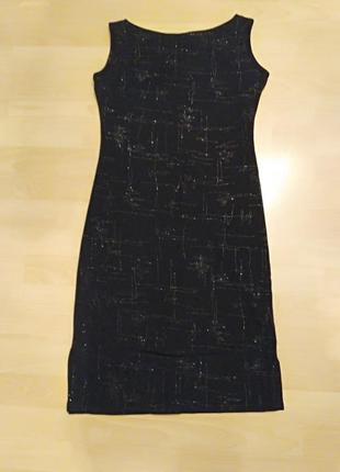 Вечернее маленькое черное платье r.f.c.