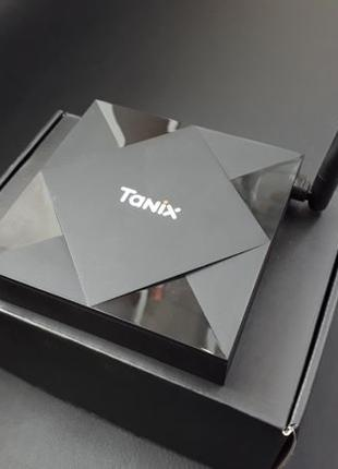 Новинка Tanix TX6s 4/32 Smart tv Box Android 10 Мощная смарт п...