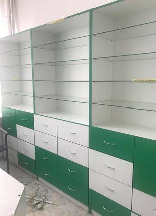 мебель для аптеки, аптечная мебель