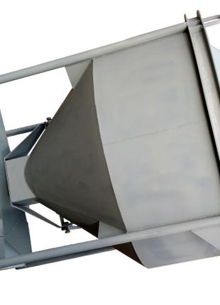 Бункер для бетона туфелька конусный БП-1,0
