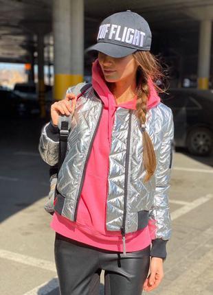 Бомбер, женский бомбер, короткая куртка, женская куртка