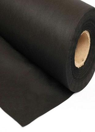 Агроволокно черное в рулоне SHADOW 50г\м2 - 1.60м\100м