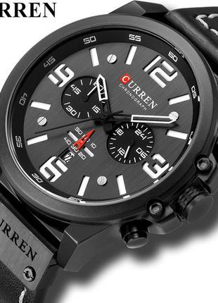 Часы наручные мужские CURREN Black CH D005