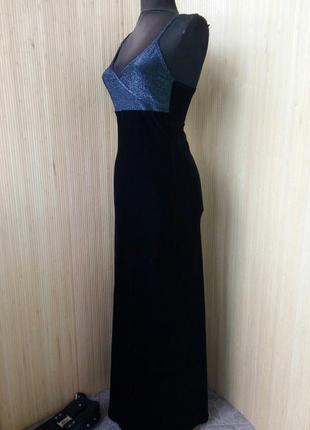 Чёрное вечернее платье под грудь fille a suivre paris