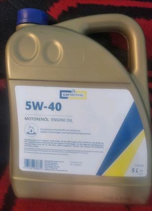 Масло синтетика 5w40