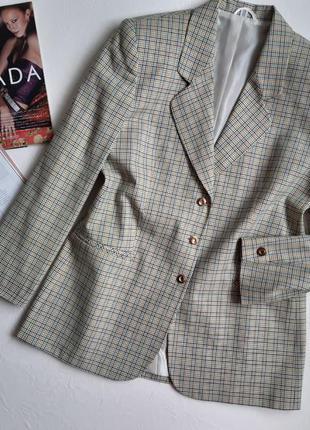 Винтажный/стильный блейзер/пиджак