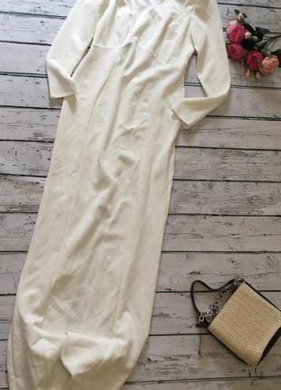 Длинное платье asos в пол с открытой спиной нарядное