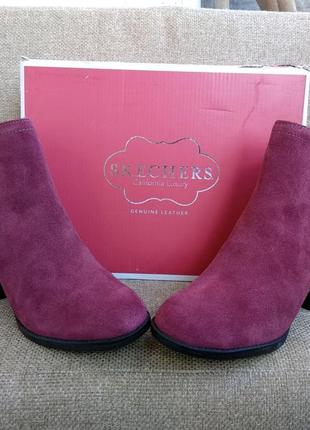 Ботильоны skechers. размеры. женские ботинки. из сша.