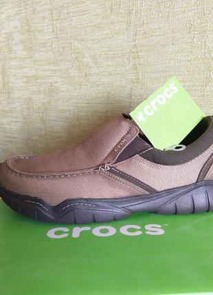 Crocs оригинал. слипоны мокасины кроссовки.