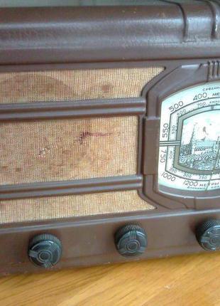 """Радиоприемник """"АРЗ """" (выпуск 25.04.1954г)"""