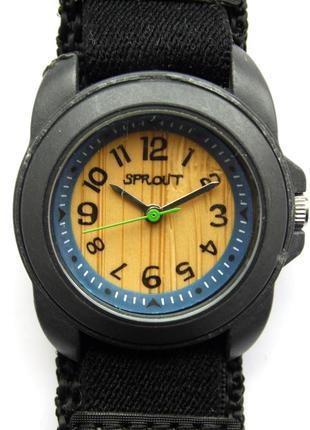Sprout watch eco friendly часы из сша бамбуковый циферблат