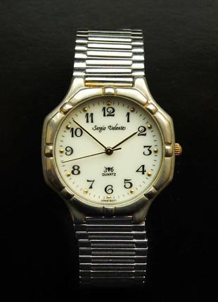 Sergio valente часы c браслетом twist-o-flex мех. japan moriok...