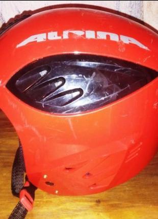 Детский зимний шлем alpina