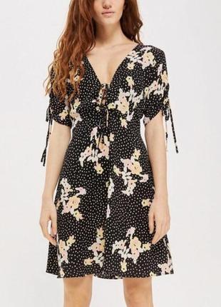 Очень красивое стильное платье в идеальном состоянии 🖤 topshop 🖤