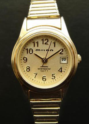 Milan часы из сша браслет twist-o-flex мех. japan sii с датой