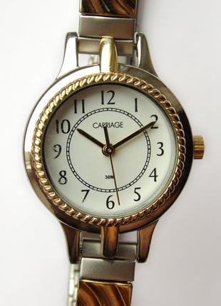 Carriage by timex часы из сша браслет twist-o-flex мех. japan ...