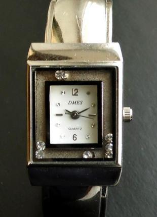 Dmes часы из сша с подвижными стразами вокруг циферблата