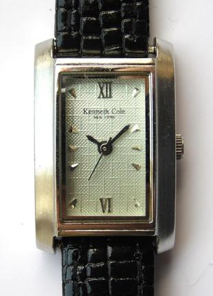 Kenneth cole женские часы из сша мех. ronda swiss