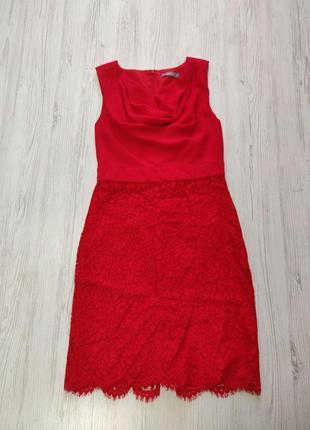 Распродажа до 10 апреля!!!🔥 ярко красное платье без рукавов с ...